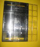 Кормушка надрамочная 2-ух ходовая на 2 литра с прозрачной крышкой